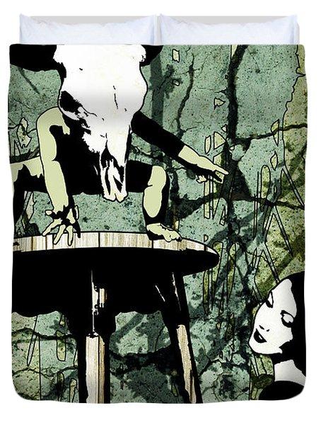 Voices Duvet Cover