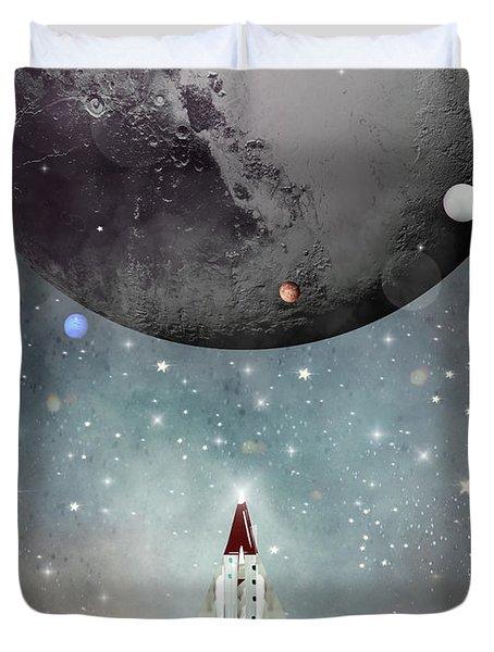 Voyager 1 Duvet Cover