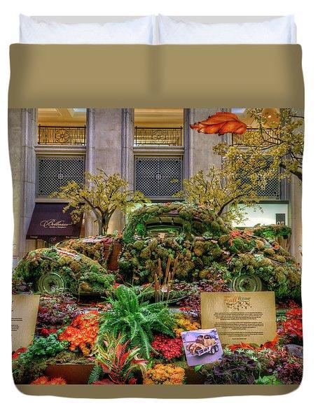 Vw Bug Planter Duvet Cover
