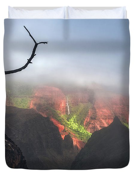 Waimea Canyon Duvet Cover