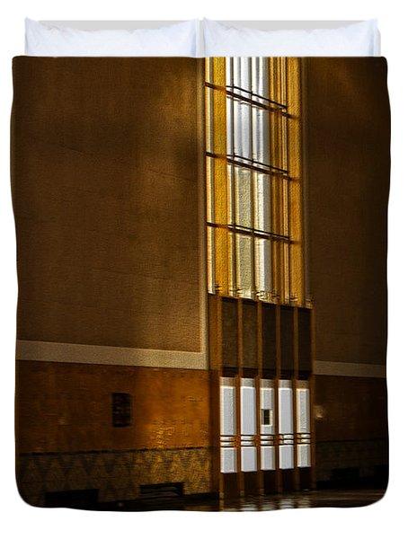Waiting Room Duvet Cover