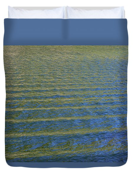 Wakes On The Missouri River Duvet Cover