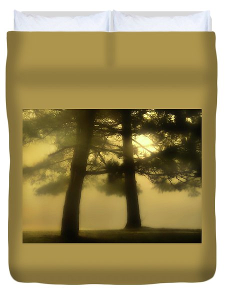 Waking From A Dream Duvet Cover