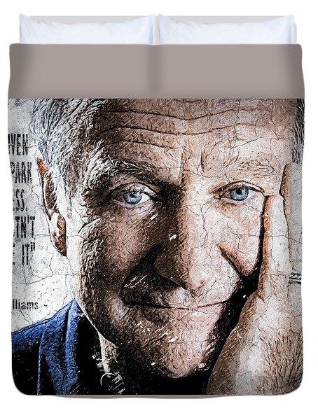 Wallart Robin Williams 3 Duvet Cover