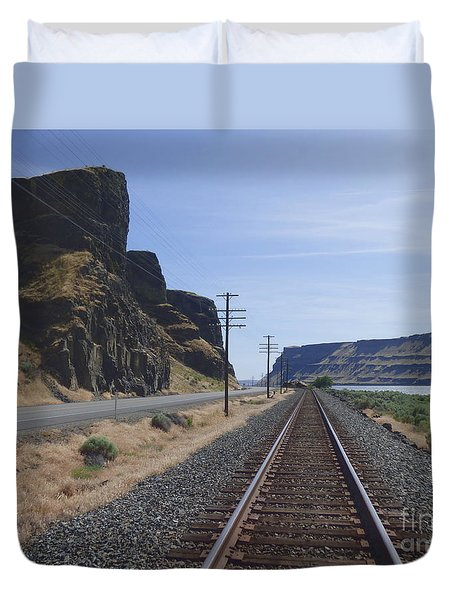 Wallula Gap Duvet Cover