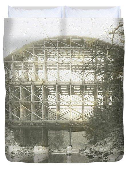 Walnut Lane Bridge Duvet Cover