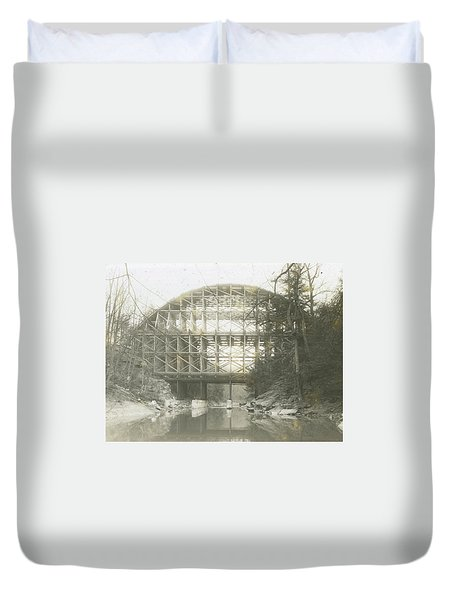 Walnut Lane Bridge Duvet Cover
