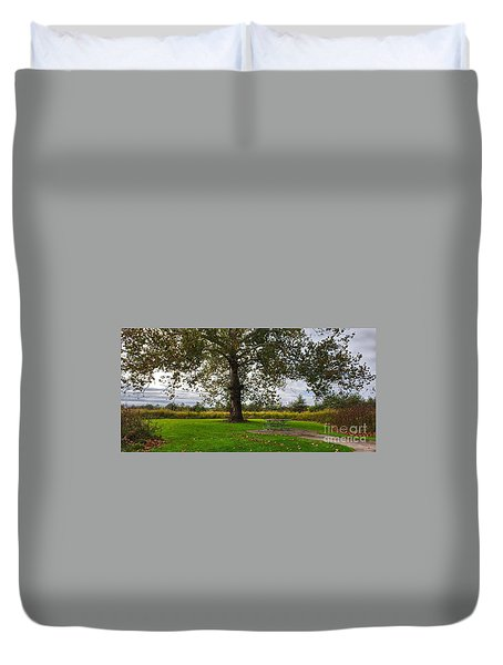 Walnut Woods Tree - 1 Duvet Cover