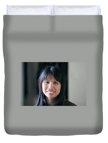 Waree's Lovely Smile Duvet Cover