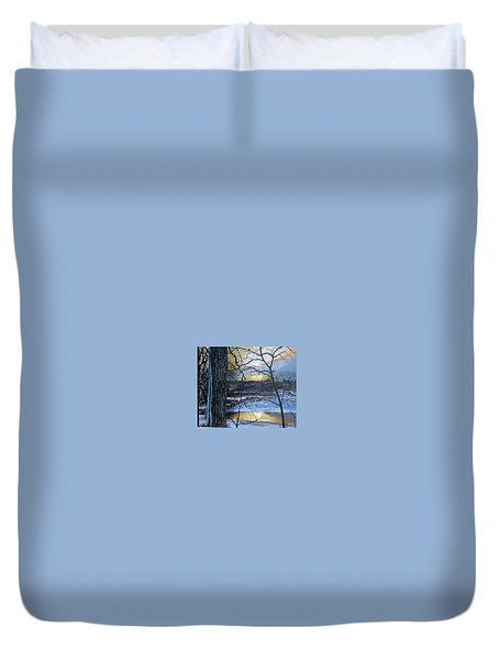 Watcher Duvet Cover