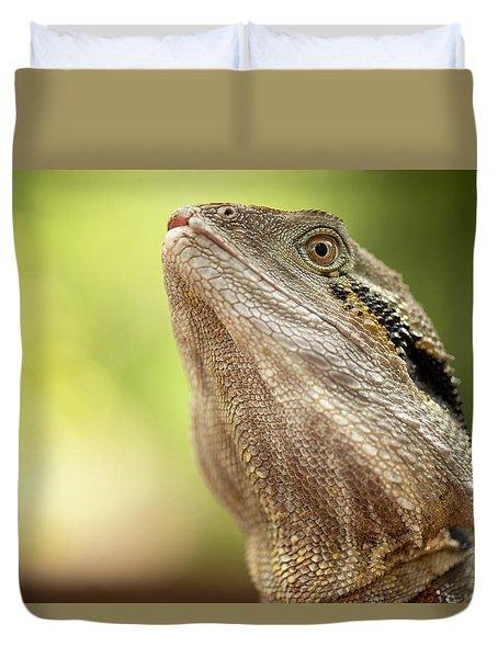 Water Dragon. Duvet Cover