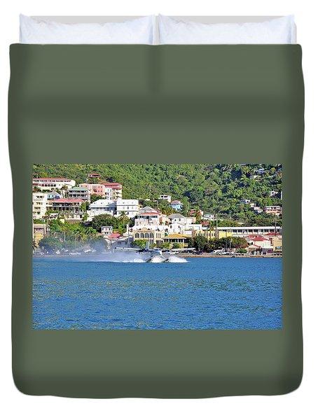 Water Launch Duvet Cover