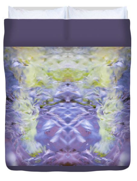 Water Ripples The Grass Duvet Cover