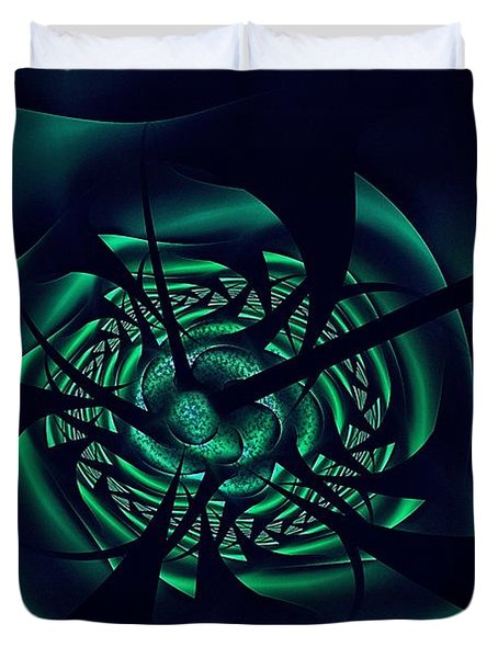 Waterborne Vector Duvet Cover