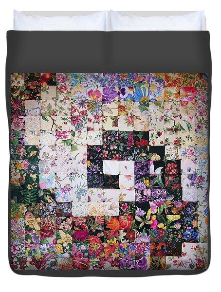 Watercolor Swirl Duvet Cover