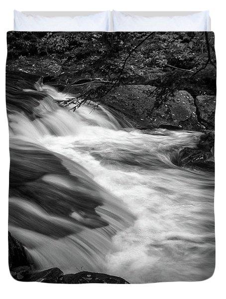 Waterfalls At Ricketts Glenn Duvet Cover