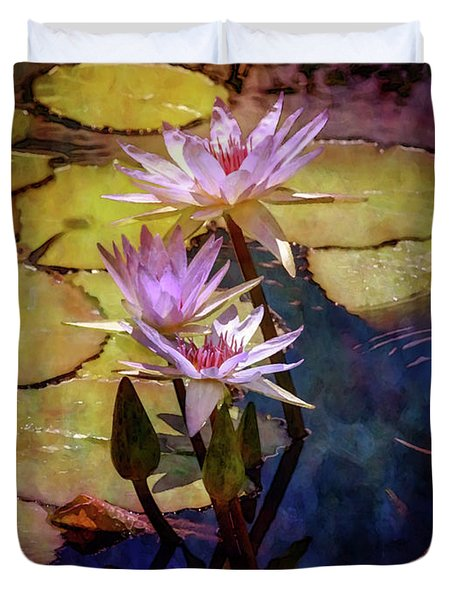 Waterlily Bouquet 2922 Idp_6 Duvet Cover
