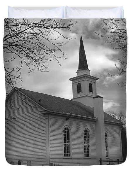 Waterloo United Methodist Church - Back Duvet Cover