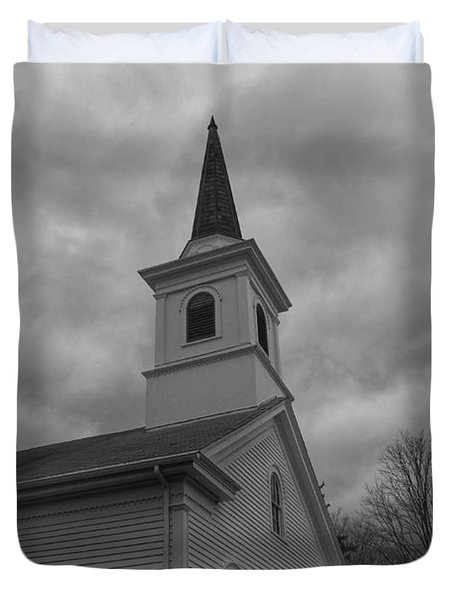 Waterloo United Methodist Church - Detail Duvet Cover