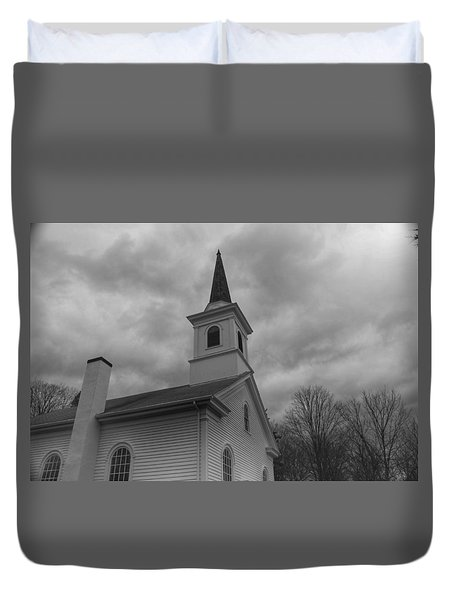 Waterloo United Methodist Church - Detail Duvet Cover