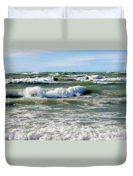 Wave Action Duvet Cover