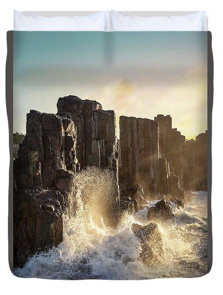 Wave Force Duvet Cover
