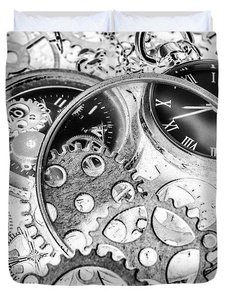Wayback Watch Workshop Duvet Cover