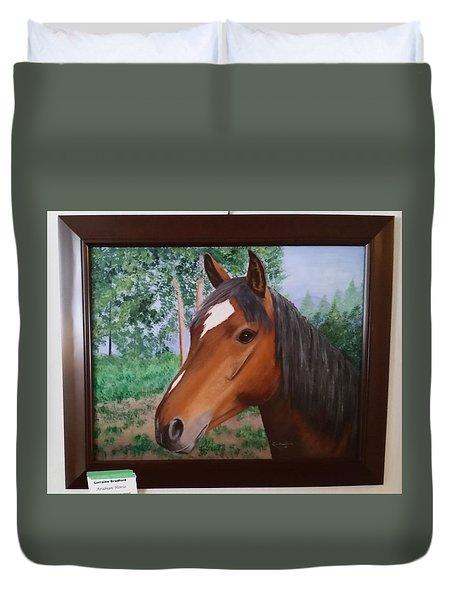 Wayne's Horse Duvet Cover