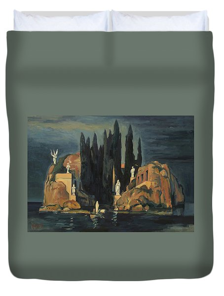 We Are Waiting For You Duvet Cover