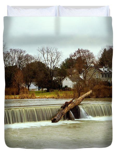 Wehr's Dam - Kodak Color Profile Duvet Cover