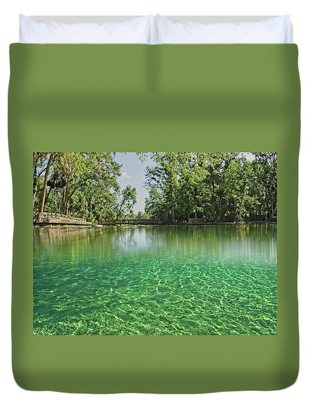 Wekiwa Springs Duvet Cover