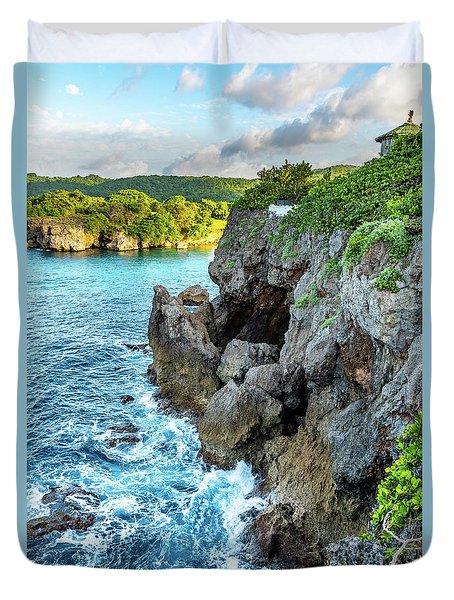 Welcome To Portland Jamaica Duvet Cover