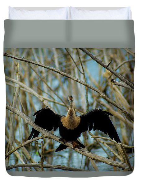 Welcome To The Stick Jungle Duvet Cover