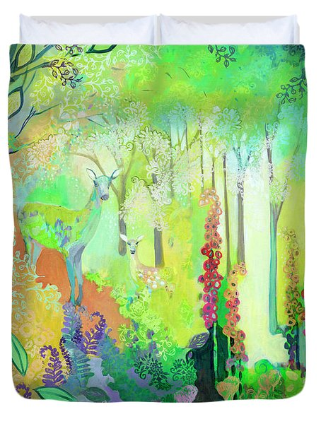 We'll Be Waiting For You Duvet Cover