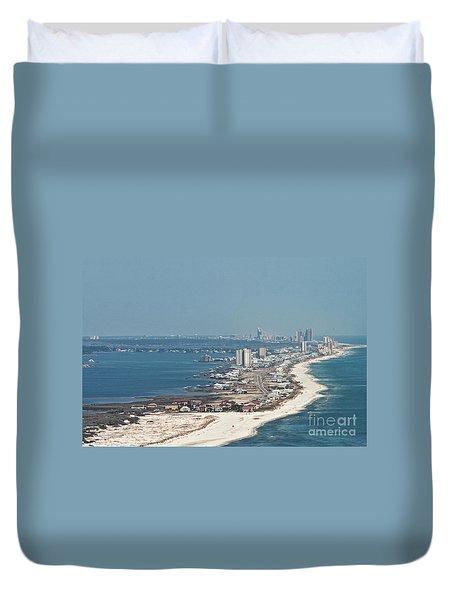 West Beach-1 Duvet Cover