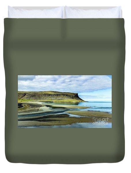 Westfjords, Iceland Duvet Cover