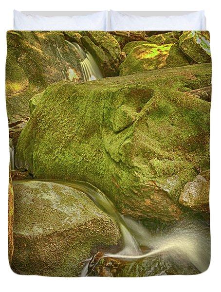 Wet Rocks Duvet Cover