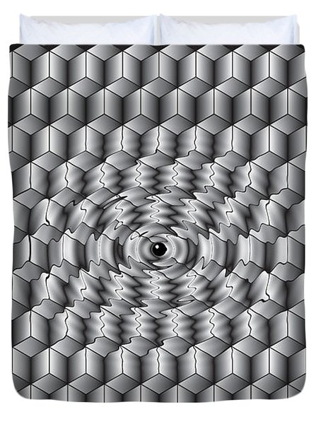 What Does Ai Look Like To Ai Duvet Cover