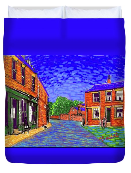 What If...vincent Went To Gildersome Duvet Cover
