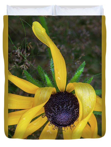 Duvet Cover featuring the photograph When Nature Gives The Finger by Dale Kincaid
