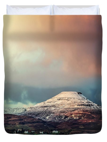 When The Sun Begins To Shine Duvet Cover