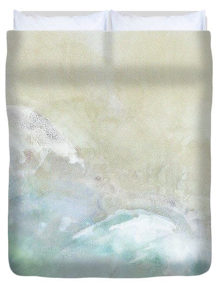 Where Sea Meets Shore Duvet Cover