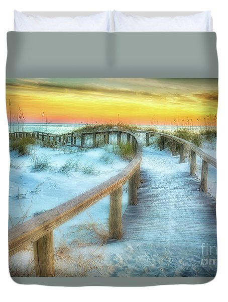 Where The Path Leads Duvet Cover