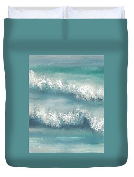 Whispering Waves Duvet Cover