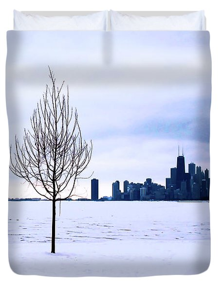 Duvet Cover featuring the photograph White Dream by Milena Ilieva