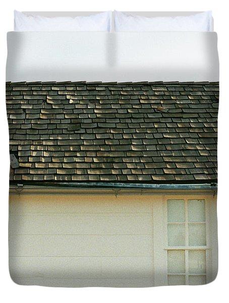 White Farmhouse Duvet Cover