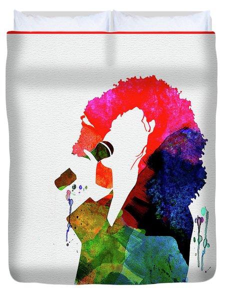 Whitney Watercolor Duvet Cover