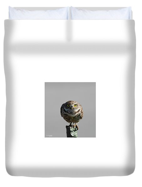 Whooo Are You Duvet Cover