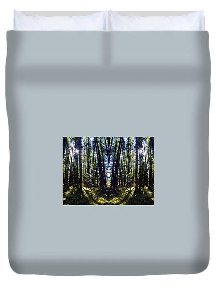 Wild Forest #1 Duvet Cover