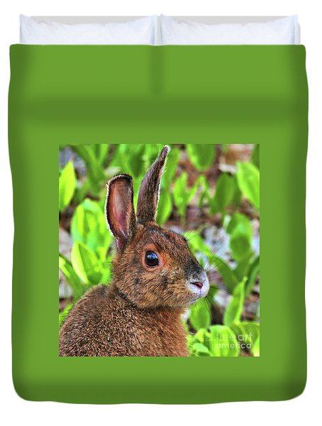 Wild Rabbit Duvet Cover